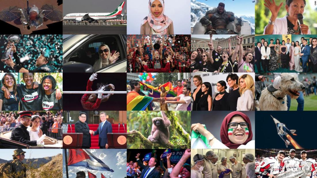 2018 wasn't ALL bad. Here are all the good things that happened in the world.
