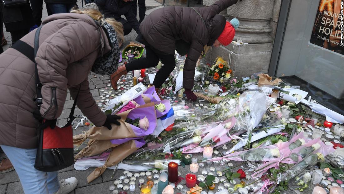Fourth victim dies in Strasbourg market shooting