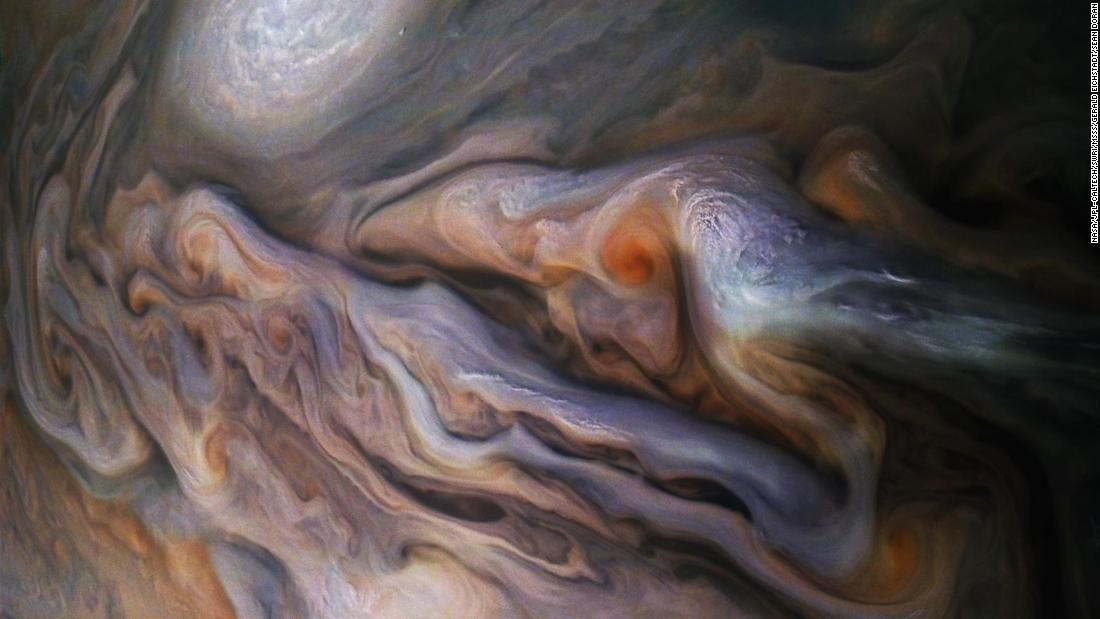 NASA reveals stunning new images of Jupiter