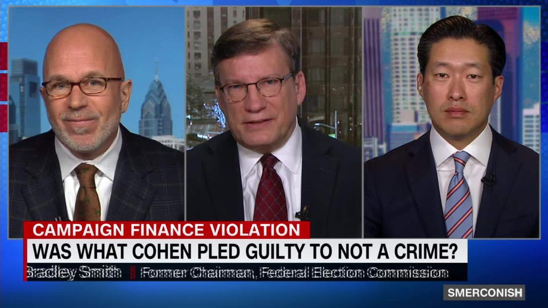 Did Cohen plead guilty to something that isn't a crime?