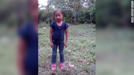 The body of a 7-year-old Guatemalan girl who died in US custody is being moved to a funeral home