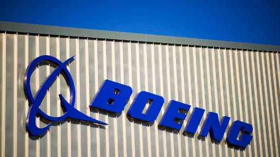 The Boeing Co. logo stands on its factory in Sheffield, U.K., on Thursday, Oct. 25, 2018. The U.S. planemaker opened its first European factory, a 40 million-pound ($52 million) facility that will make system-control components used for 737 and 737 Max narrowbody and 767 widebody jets. Photographer: Matthew Lloyd/Bloomberg via Getty Images