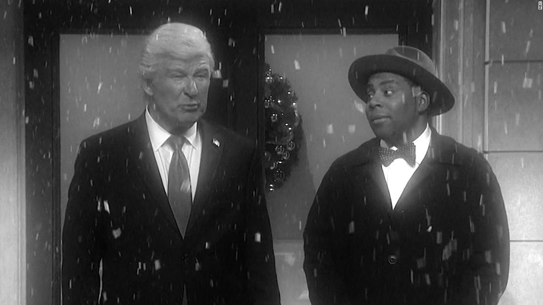 'SNL' imagines life without a Trump presidency