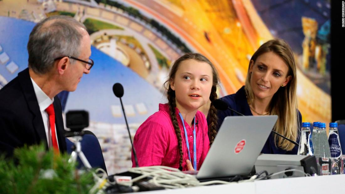 Teen tells climate negotiators to grow up
