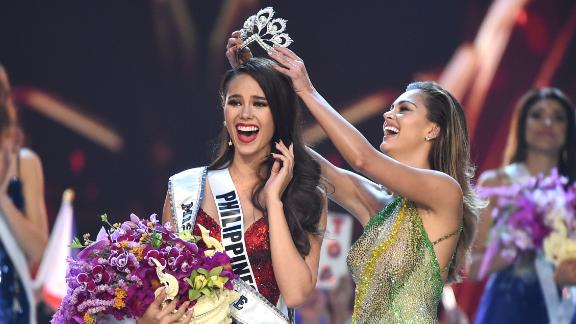 Miss Philippines Catriona Gray is crowned Miss Universe 2018 in Bangkok, Thailand on Monday, December 17, 2018.