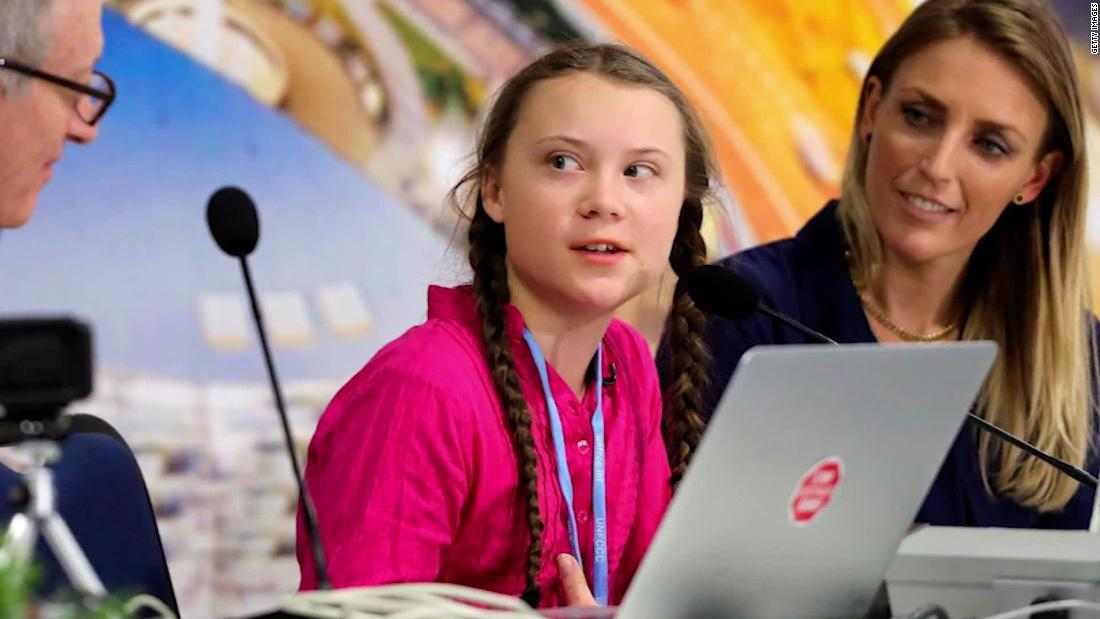 Teen activist scolds world leaders on climate - CNN Video
