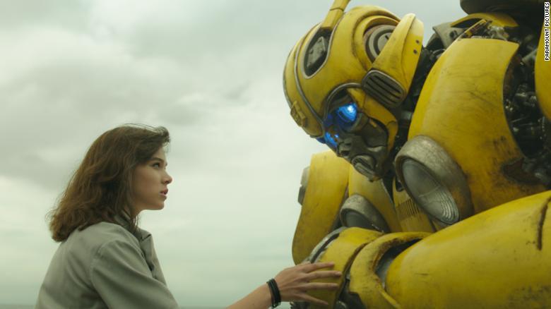"Hailee Steinfeld stars in ""Bumblebee."""