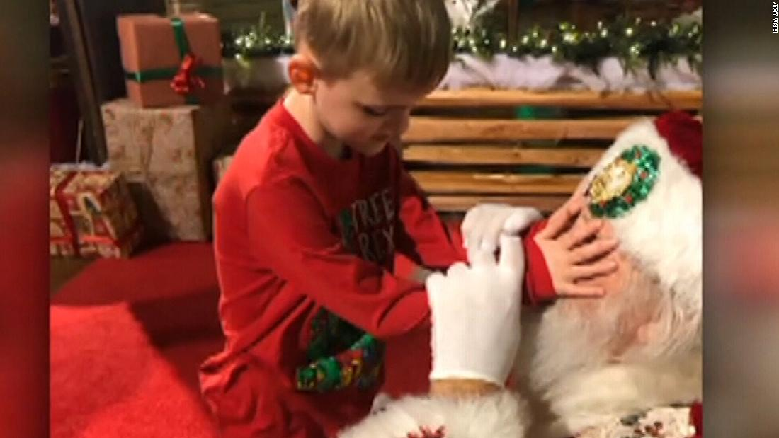 How Santa responded when he learned boy has autism