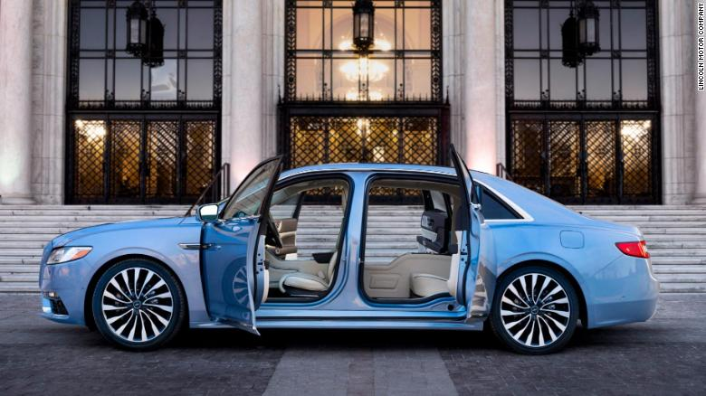 Suicide Doors Are Back On The Lincoln Continental Cnn