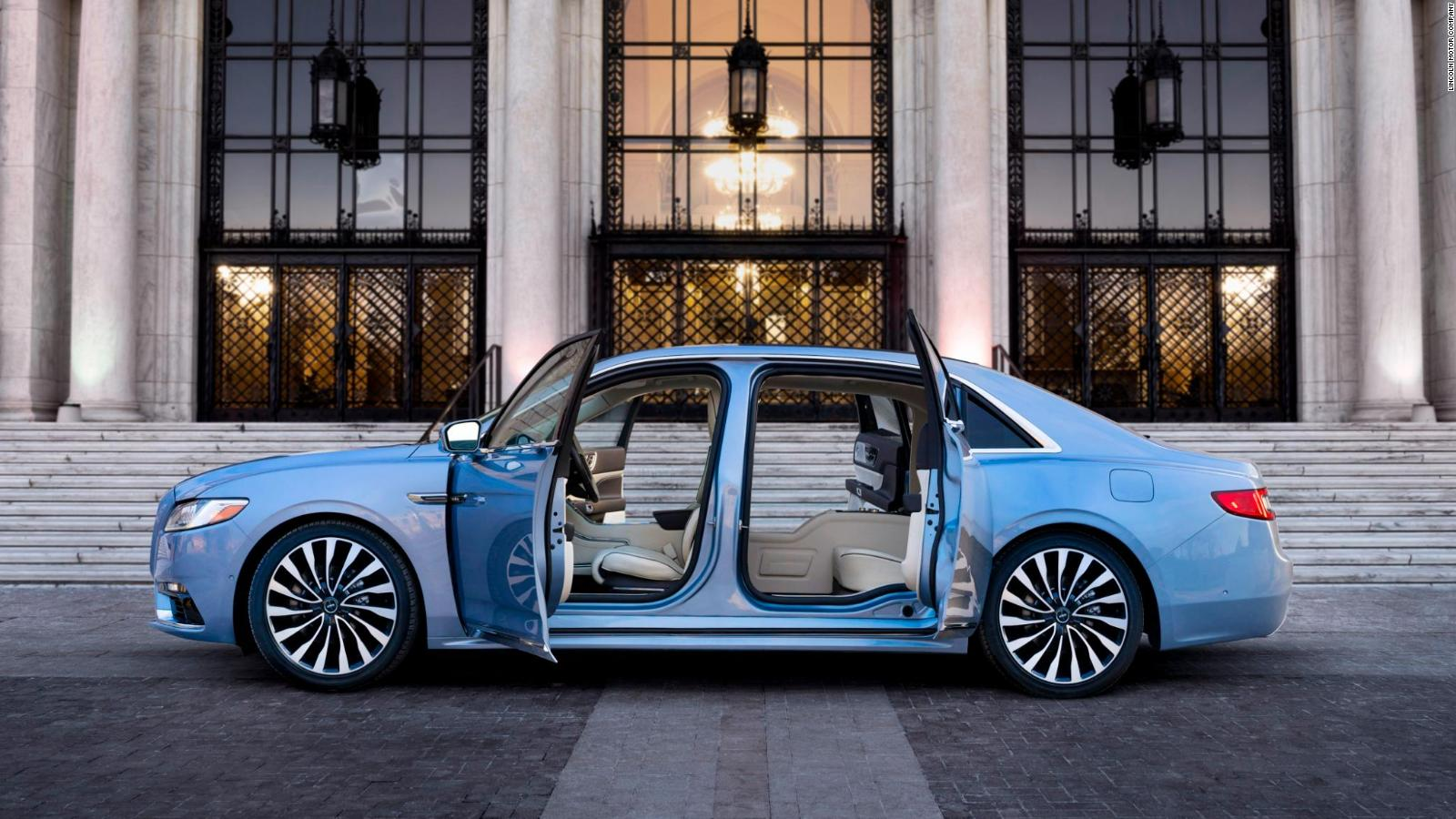 See The Crazy Doors On Lincoln S New 100k Car Cnn Video