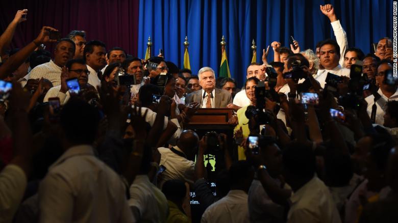 Sri Lanka reinstates ousted Prime Minister in stunning reversal