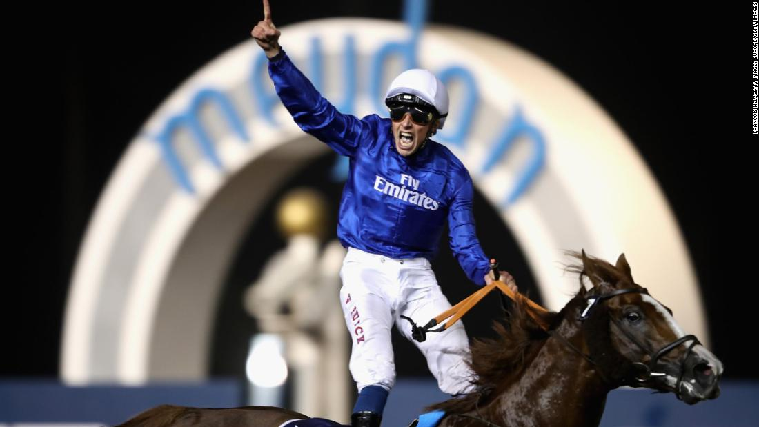 The $12 million Dubai World Cup was usurped by the Pegasus, but still offers an eye-watering $7.2 million for the winner. Godolphin's Thunder Snow won in 2018 and 2019.