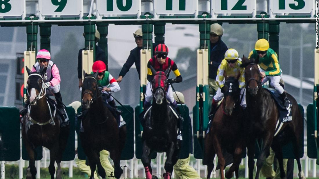 7 Richest Horse Races In The World Cnn