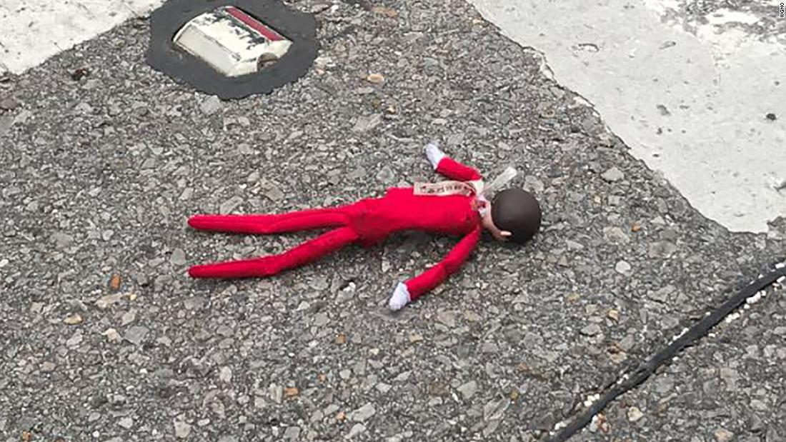 Sheriff's Office responds to body found of Elf on a Shelf