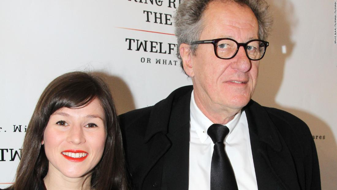 Geoffrey Rush denies allegations of improper conduct with former co-star