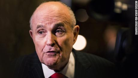 President Donald Trumps lawyer, Rudy Giuliani, said Wednesday there was nothing illegal about Trump campaign advisers meeting with a Russian lawyer purportedly offering dirt on Democratic presidential candidate Hillary Clinton.
