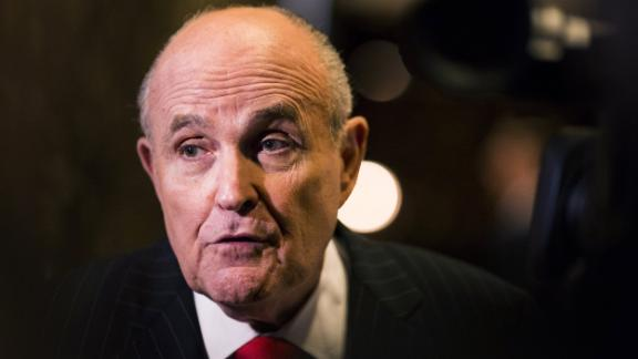 President Donald Trump's lawyer, Rudy Giuliani, said Wednesday there was nothing illegal about Trump campaign advisers meeting with a Russian lawyer purportedly offering dirt on Democratic presidential candidate Hillary Clinton.