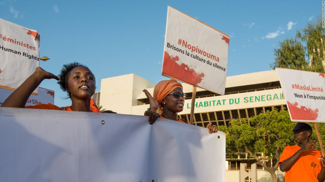 The Senegalese women speaking out against sexual harassment