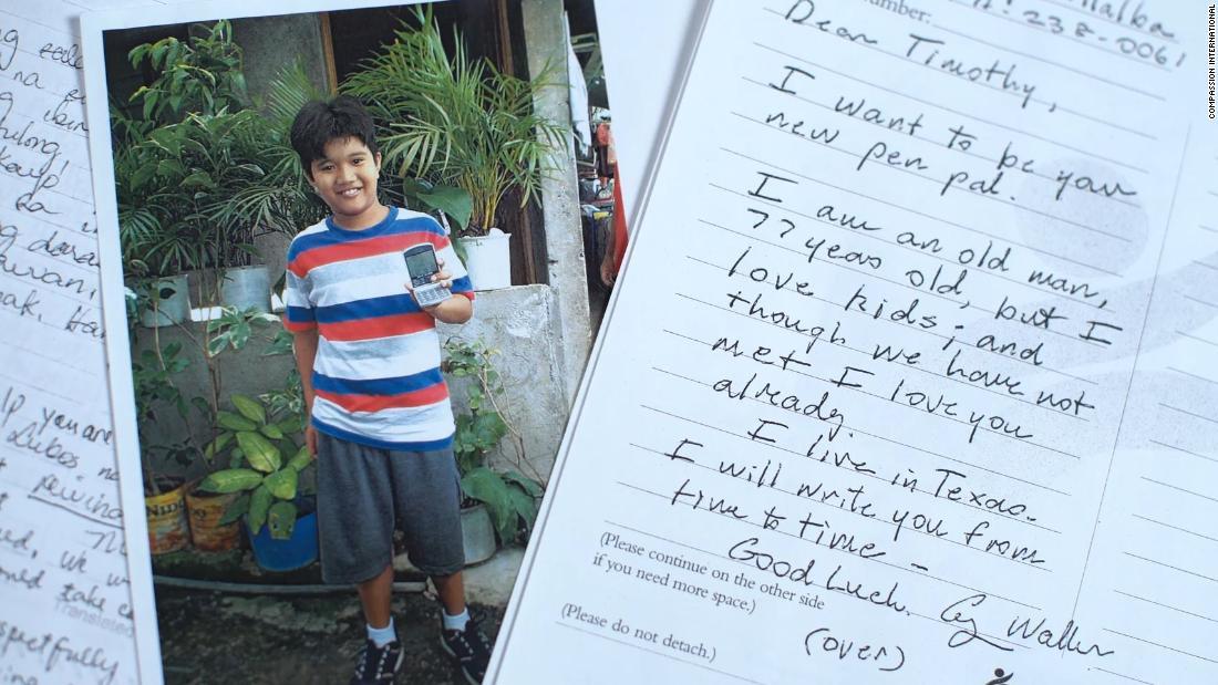 George H.W. Bush secretly sponsored a Filipino child