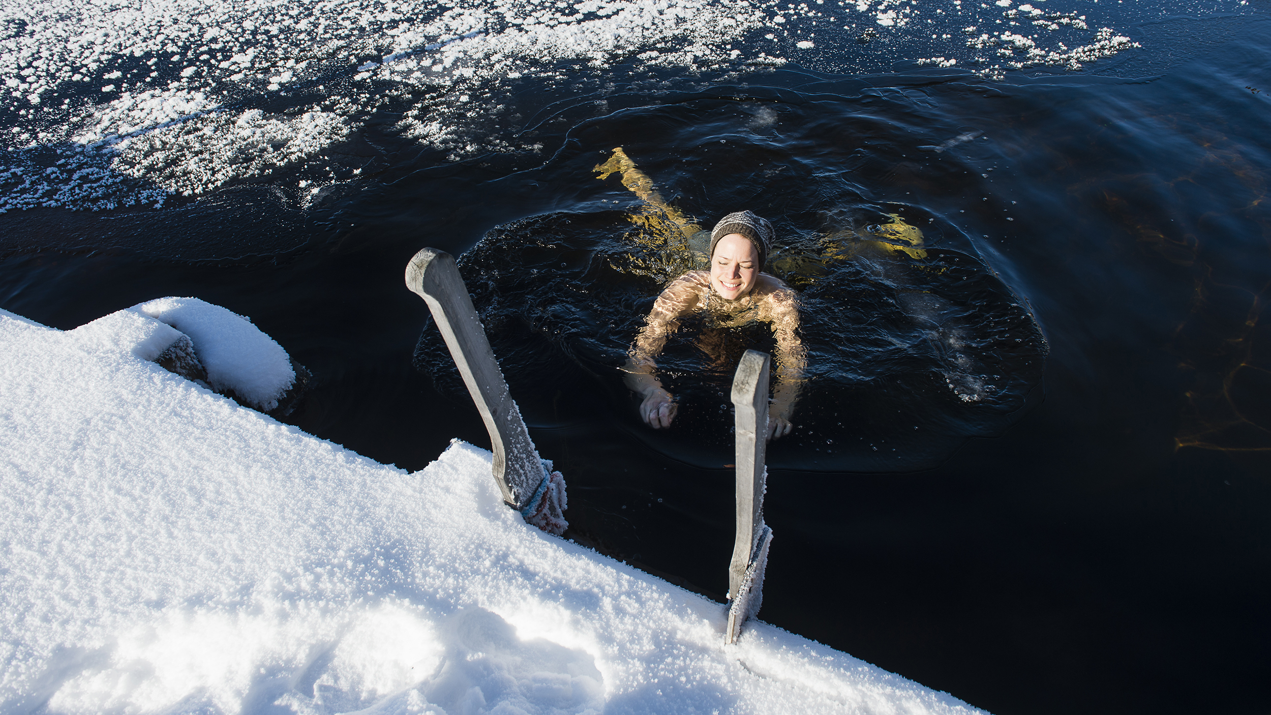 cac38cdae18 Ice swimming in Finland: Is that why it's the happiest country? | CNN Travel