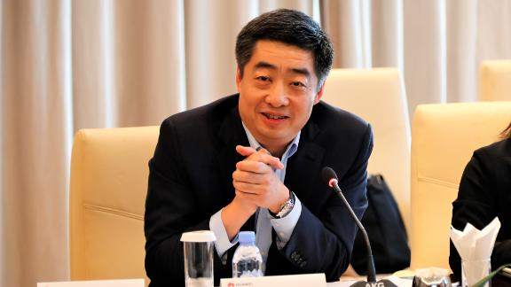 Huawei Deputy Chairman Ken Hu at a media briefing on Tuesday. Business operations have continued as normal since the arrest of CFO Meng Wanzhou, he said.