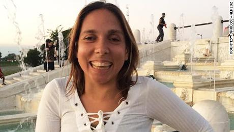 Carla Valpeoz went missing the morning of December 12 and never showed up for her flight  from Peru.