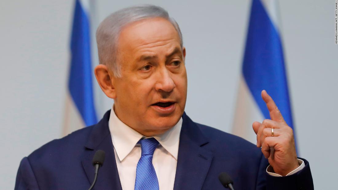 Netanyahu: Israel struck Iranian weapons depot at Damascus airport