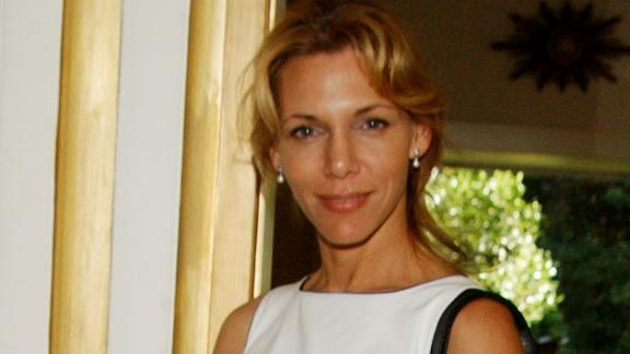 Christina Engelhardt, pictured here in 2003, says she first met Woody Allen in 1976.