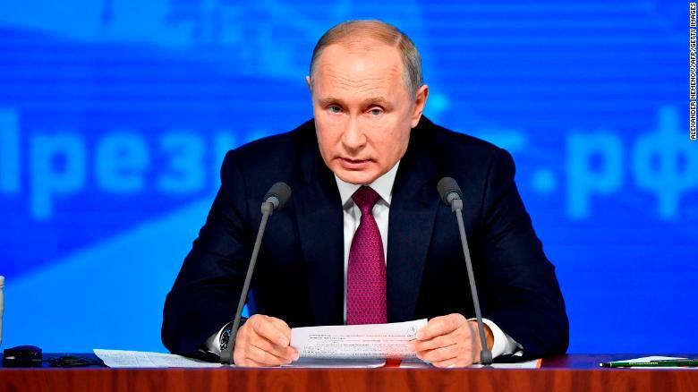 Vladimir Putin Praises Trump S Syria Withdrawal Plan Cnn