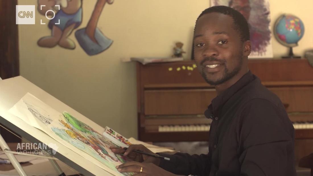 Creating Uganda's popular cartoon character