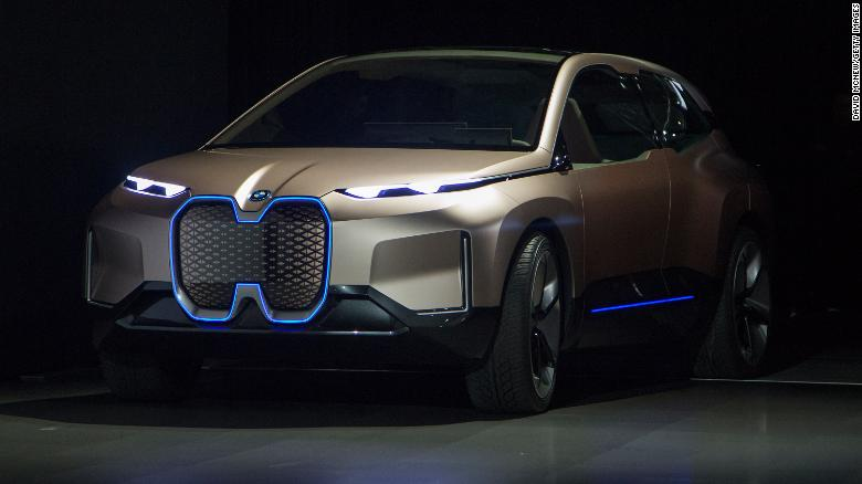 BMW designers used the Vision iNext concept to show off some features they have planned for an electric vehicle in the near future.