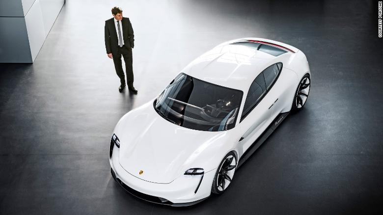Porsche promises the four-door Taycan will be capable of sports car performance.