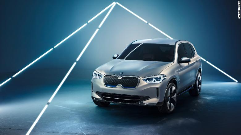 The BMW iX3 is a more realistic vision of a future BMW electric vehicle that will be produced in China.