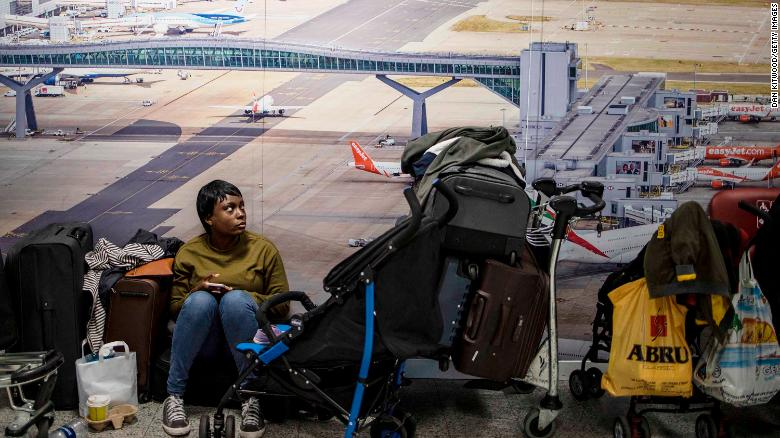 The shutdown has sparked a succession of delays and diversions in the run up to the Christmas getaway.