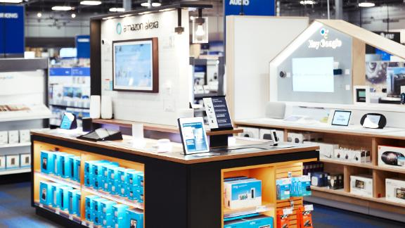 Best Buy has built close relationships with vendors like Google, Amazon and Apple to showcase their products in stores.