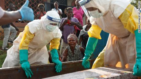 Outbreak of Ebola cases; Representatives seek new response plan