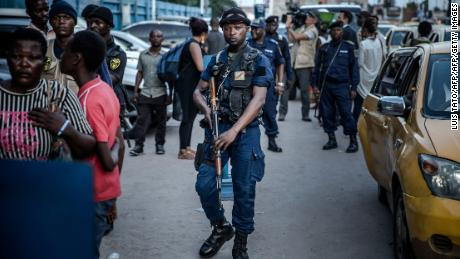 Protests erupt in Congo over presidential election delays