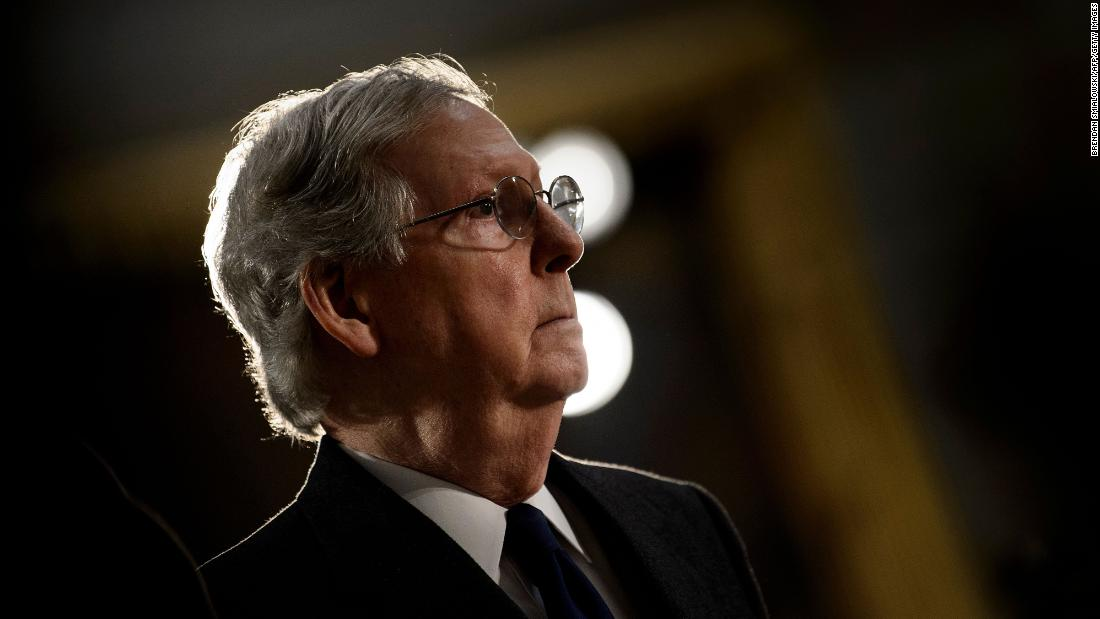 McConnell vows to be 'Grim Reaper' for socialist legislation
