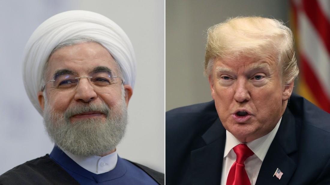 Pompeoのヒントとトランプが満たすとイランの長国連会議