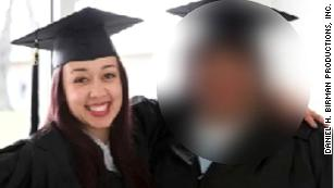 Cyntoia Brown at her graduation.