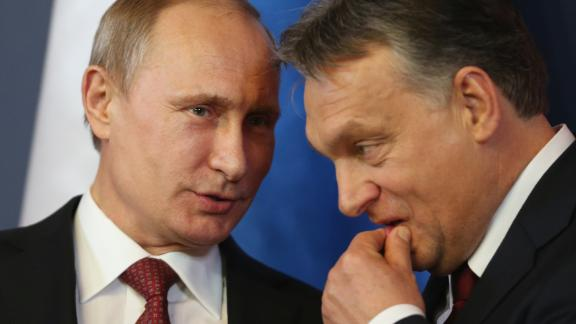 George Soros is frequently vilified by Russian President Vladimir Putin and Hungarian Prime Minister Viktor Orban.