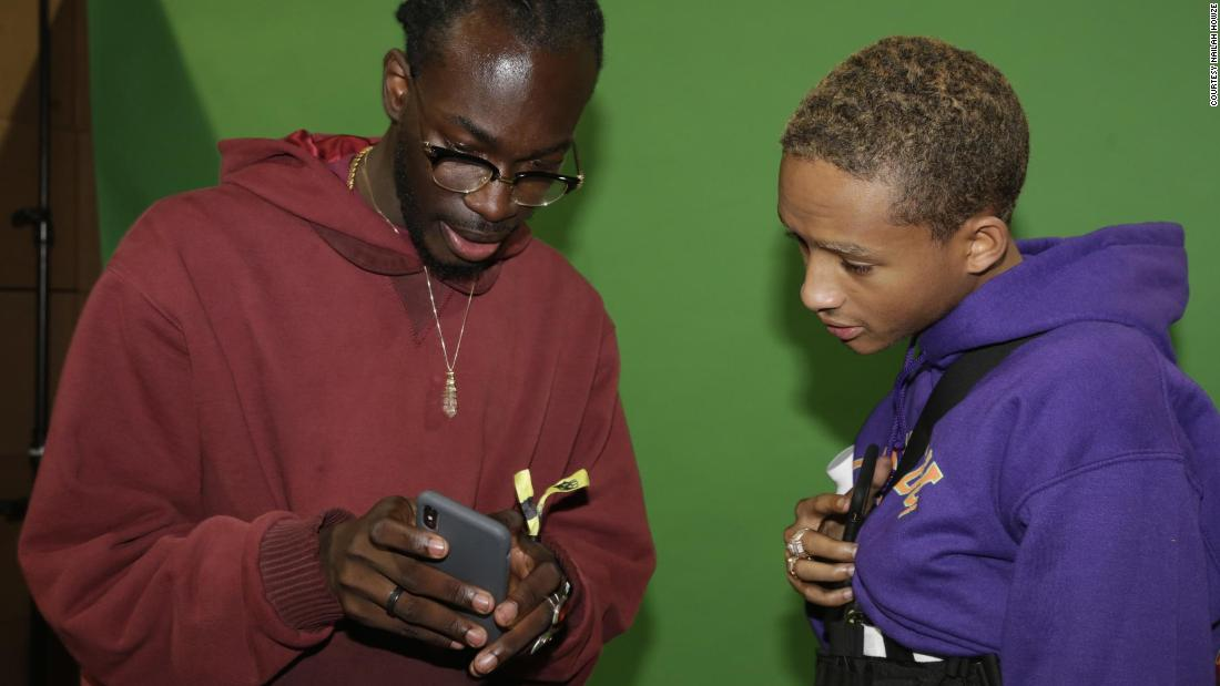 """With Jaden we are getting more young people to vote and creating experiences around that,"" Sandu told CNN."