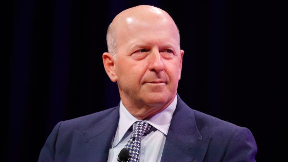 David Solomon speaks onstage at Fortune Most Powerful Women Summit - Day 2 on October 10, 2017 in Washington, DC.