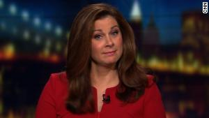 Burnett On Trumps Barrier Not A Skit Cnns Erin Burnett Reacts To