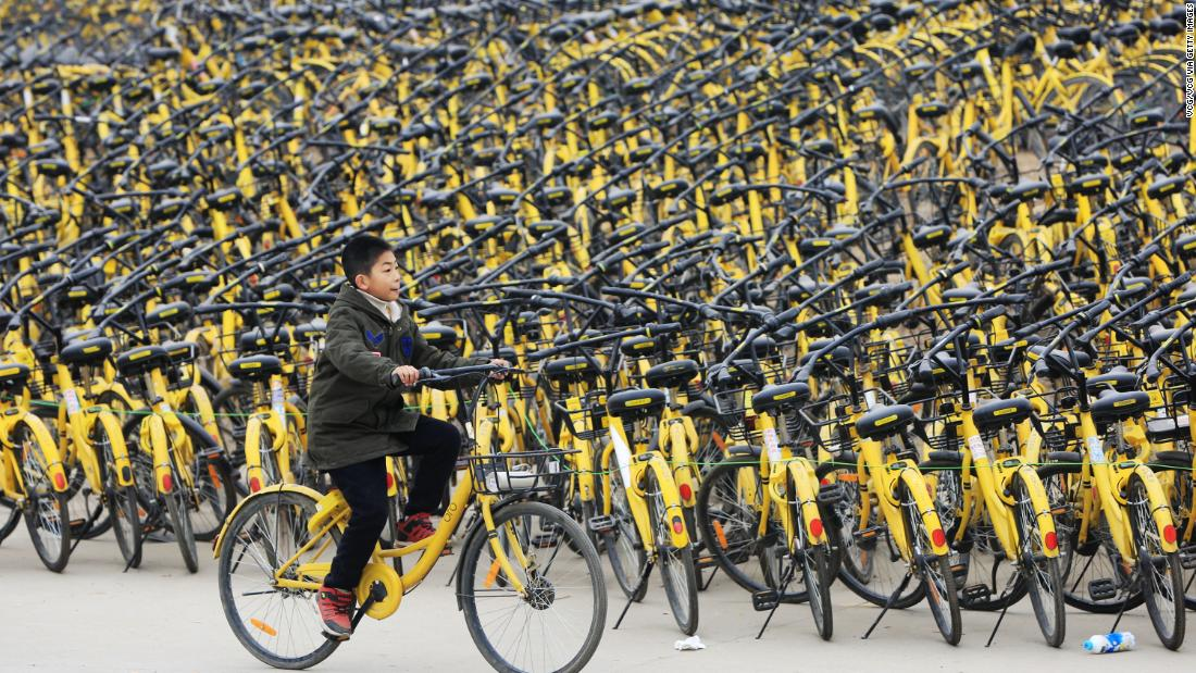 Chinese bike-sharing startup Ofo went global. Now it may go bust