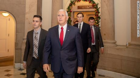 Mike Pence: 'No wall, no deal' to end partial government shutdown