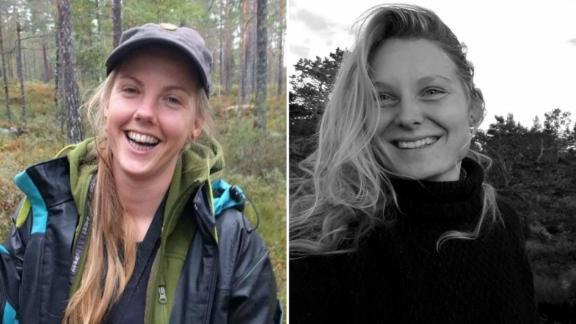 The bodies of Maren Ueland of Norway, left, and Louisa Jespersen of Denmark were discovered in the High Atlas mountain range on December 17.