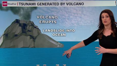 How the tsunami occurred without warning
