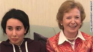 阿联酋发布了失踪的公主Sheikha Latifa的照片