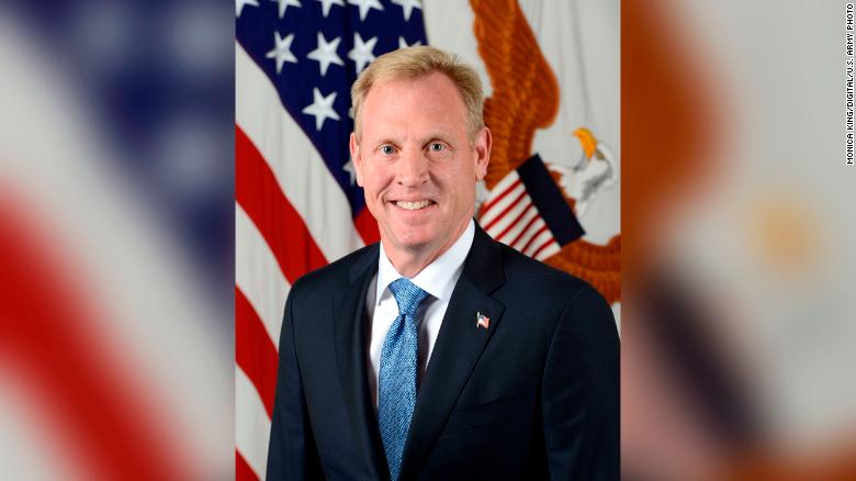 Patrick M. Shanahan, deputy secretary of defense, poses for his official portrait in the Army portrait studio at the Pentagon in Arlington, Virginia, July 19, 2017.